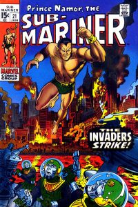 Sub-Mariner #21 (1970)