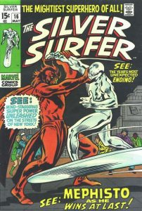 The Silver Surfer #16 (1970)