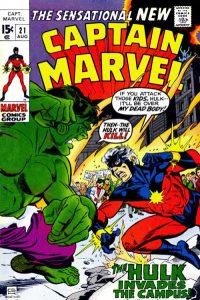 Captain Marvel #21 (1970)