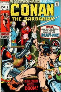Conan the Barbarian #2 (1970)