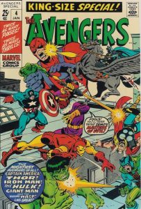 Avengers Annual #4 (1971)