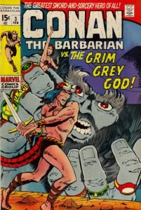 Conan the Barbarian #3 (1971)