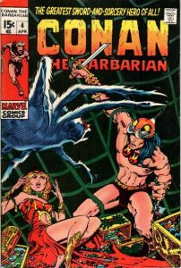 Conan the Barbarian #4 (1971)