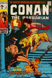 Conan the Barbarian #5 (1971)