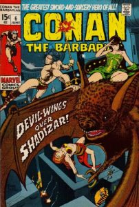 Conan the Barbarian #6 (1971)