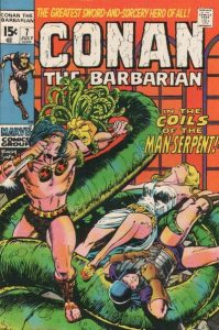 Conan the Barbarian #7 (1971)