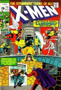 The Uncanny X-Men #71 (1971)