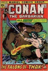 Conan the Barbarian #11 (1971)