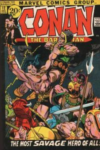 Conan the Barbarian #12 (1971)