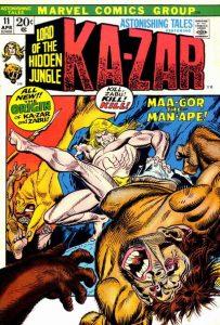 Astonishing Tales #11 (1972)