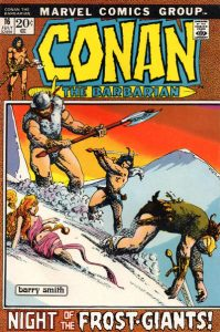 Conan the Barbarian #16 (1972)