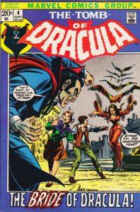 Tomb of Dracula #4 (1972)