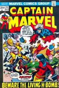 Captain Marvel #23 (1972)
