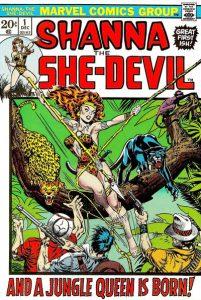 Shanna, the She-Devil #1 (1972)