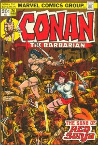 Conan the Barbarian #24 (1973)