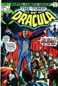 Tomb of Dracula #7 (1973)