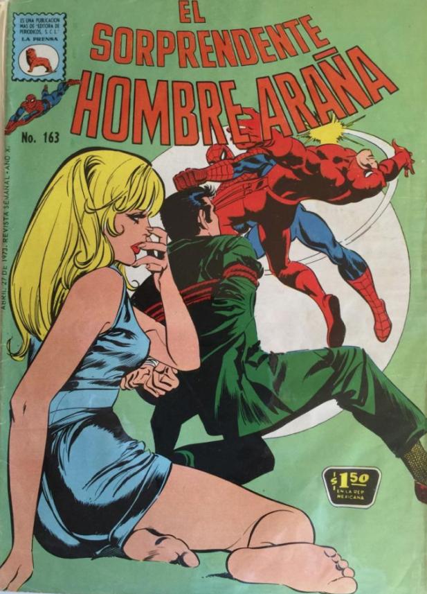 El Sorprendente Hombre Araña #163 (1973)