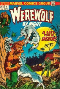 Werewolf by Night #5 (1973)
