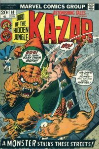 Astonishing Tales #18 (1973)