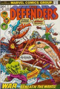 The Defenders #7 (1973)