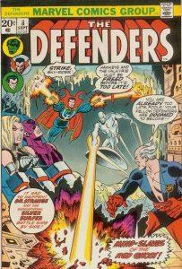 The Defenders #8 (1973)
