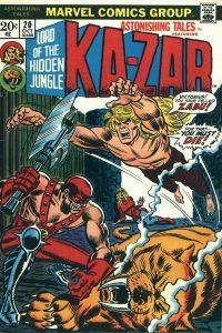 Astonishing Tales #20 (1973)