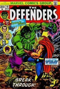 The Defenders #10 (1973)