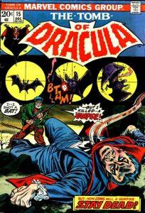 Tomb of Dracula #15 (1973)