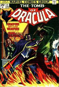 Tomb of Dracula #21 (1974)