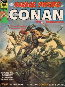 The Savage Sword of Conan #1 (1974)