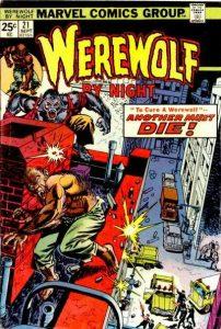 Werewolf by Night #21 (1974)