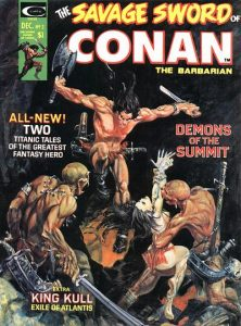 The Savage Sword of Conan #3 (1974)