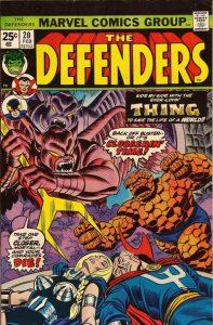 The Defenders #20 (1975)