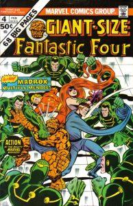 Giant-Size Fantastic Four #4 (1975)