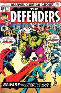 The Defenders #21 (1975)