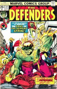 The Defenders #22 (1975)