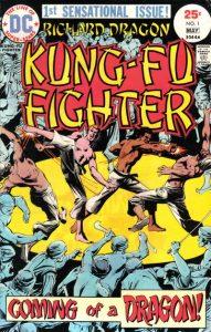 Richard Dragon, Kung-Fu Fighter #1 (1975)