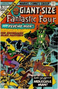 Giant-Size Fantastic Four #5 (1975)