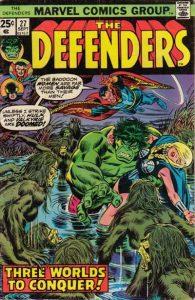 The Defenders #27 (1975)