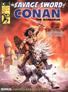 The Savage Sword of Conan #8 (1975)