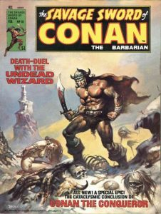 The Savage Sword of Conan #10 (1976)