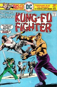 Richard Dragon, Kung-Fu Fighter #7 (1976)