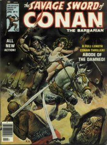 The Savage Sword of Conan #11 (1976)