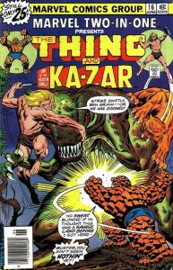 Marvel Two-In-One #16 (1976)