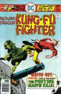 Richard Dragon, Kung-Fu Fighter #9 (1976)
