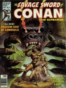 The Savage Sword of Conan #14 (1976)