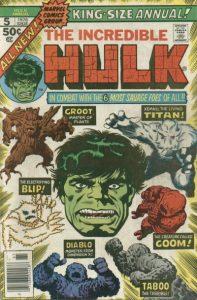 The Incredible Hulk Annual #5 (1976)