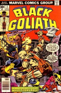 Black Goliath #5 (1976)