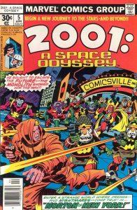 2001: A Space Odyssey #5 (1977)