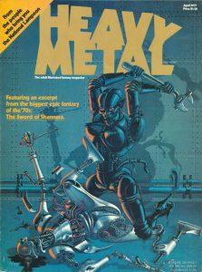 Heavy Metal Magazine #1 (1977)